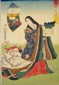 美人画K「艶姿花の十二支」1